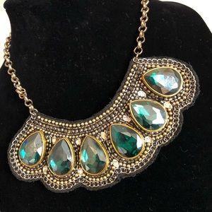 Emerald Isle Statement Necklace